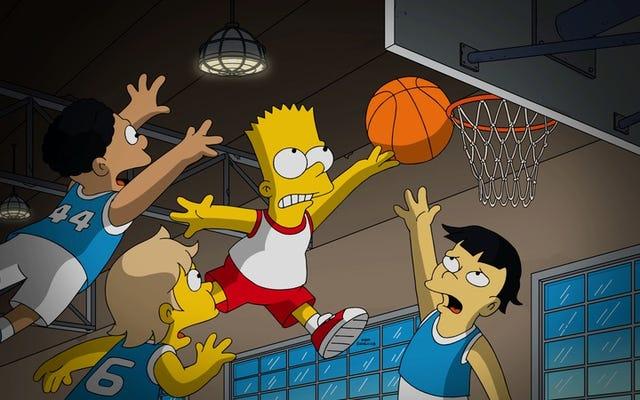 """I Simpson si spostano in modalità documentario sportivo per il suo divertente """"22 per 30"""""""