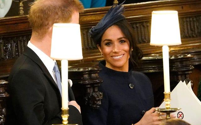 別の王室の結婚式:メーガン・マークルが結婚式の場所に戻る—もう一度、ジバンシィで