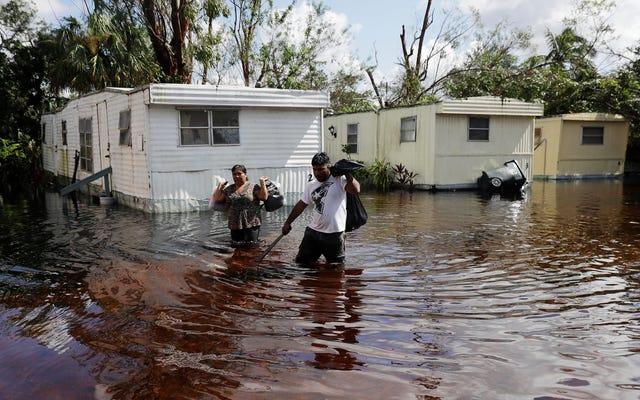 La crise des inondations est là pour les États-Unis