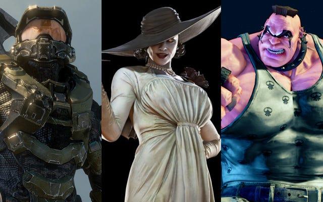 バイオハザードビレッジのレディディミトレスクを他の背の高いビデオゲームのキャラクターと比較してみましょう