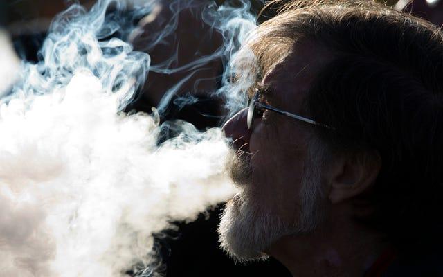 新しい研究は、Vapingを人間の慢性肺疾患にリンクします