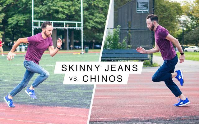 स्कीनी जींस बनाम चिनोस: द अल्टीमेट स्पोर्ट्स कॉम्बिनेशन फेस-ऑफ