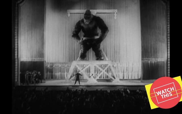 オリジナルのキングコングは、ハリウッドの大ヒット作の支配的なおじいちゃんです