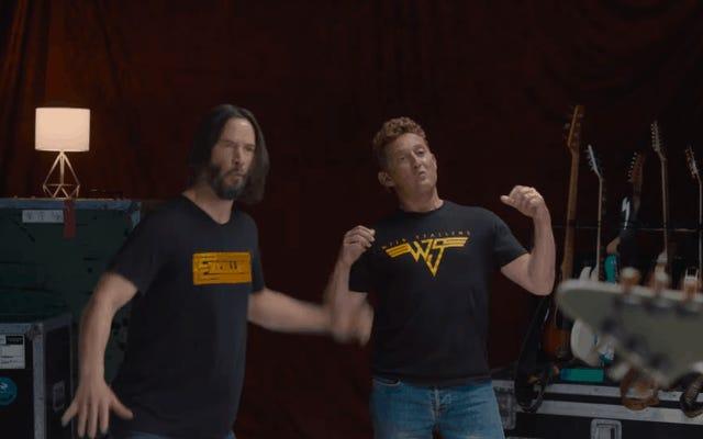 Weezer non ha scritto la canzone di Bill & Ted 3 per salvare l'universo, ma la band ne ha scritta una abbastanza buona