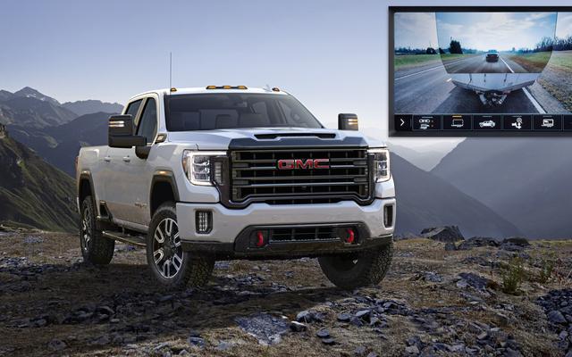 La GMC Sierra HD 2020 le permite ver directamente a través del remolque que está transportando