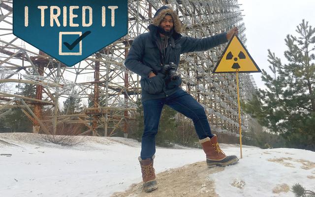 私は地球上で最も放射性の高い場所の1つを見学しました
