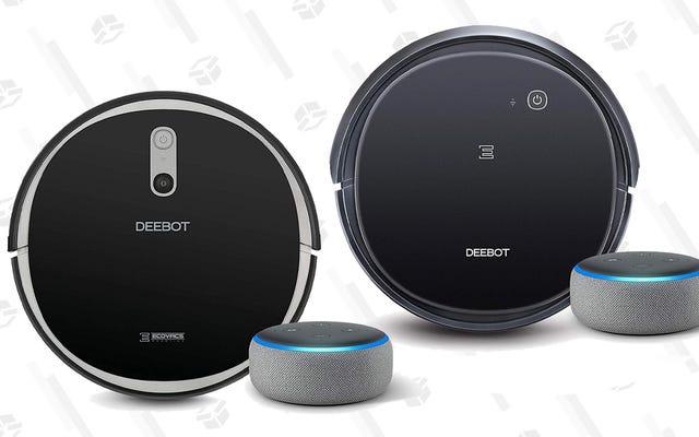Es un día fantástico para comprar una aspiradora robótica para su hogar con tecnología Alexa