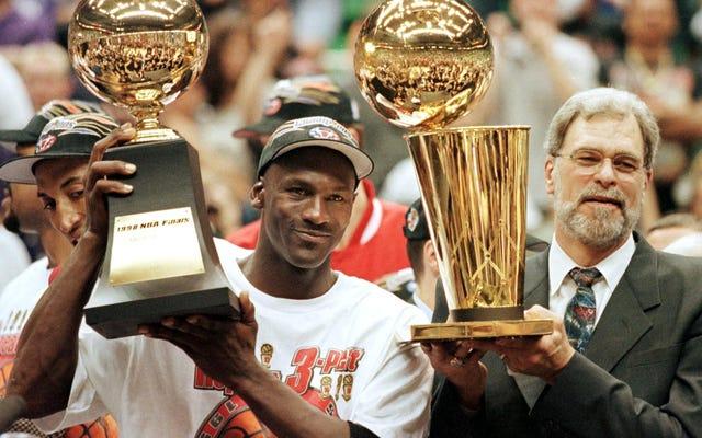 Hé, Knicks Fans & New York: Suck It. La blessure de Michael Jordan ne guérira jamais