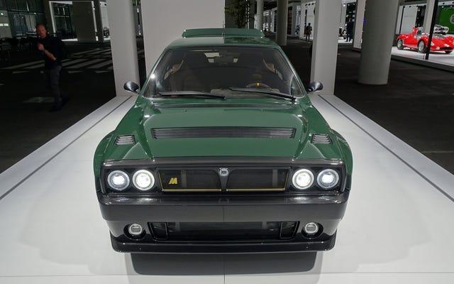 「再想像された」$ 350,000ランチアデルタインテグラーレはハイパーカーよりも特別です