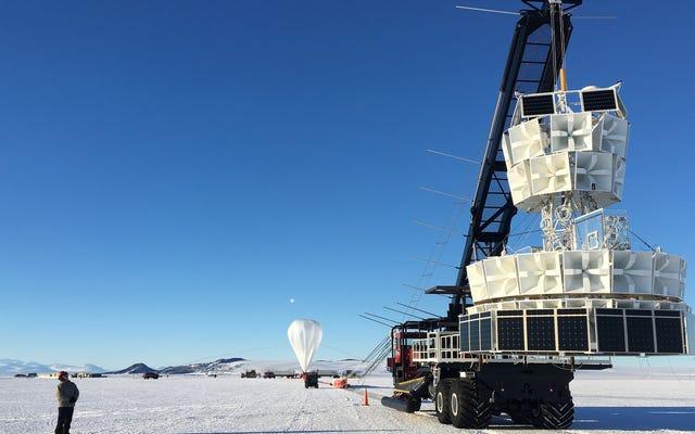 새로운 입자가 남극 기상 풍선 탐지 '비정상'을 설명 할 수 있음