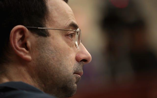 Larry Nassar dans une lettre au juge: écouter les déclarations des victimes devant le tribunal est trop pénible mentalement
