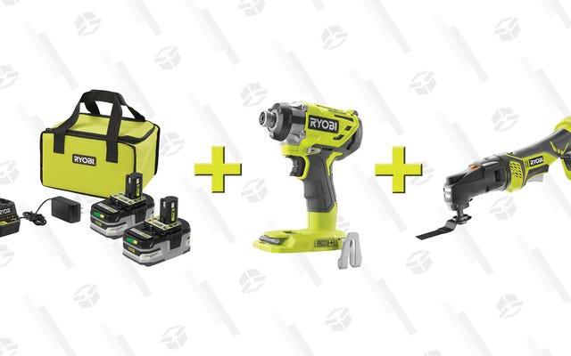 ホームデポからいくつかのスターターキットの1つで99ドルで2つの電動工具を入手