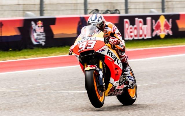 Márquez de MotoGP no está interesado en compartir Austin