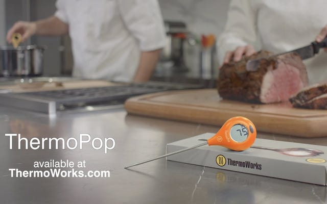 Najlepsza wartość termometrów kuchennych jest jeszcze tańsza niż zwykle