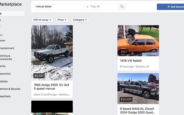 Facebook Pazarı, Araba Alışverişi İçin Craigslist'ten Daha İyi