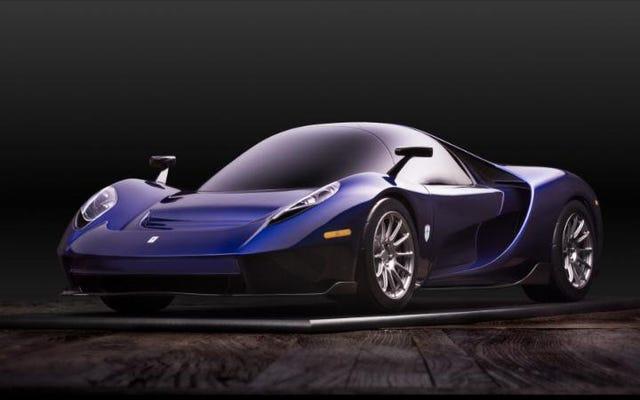 स्कडेरिया कैमरन ग्लेनहॉउस 004S एक 650 एचपी अमेरिकी-निर्मित मिड-एंगेड रोड कार है जिसे रेस के लिए बनाया गया है