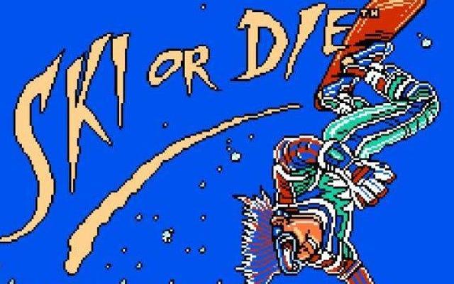 NES cổ điển vượt qua dốc trượt tuyết hoặc chết! Ai Cần Thực hành Hoặc Hướng dẫn?