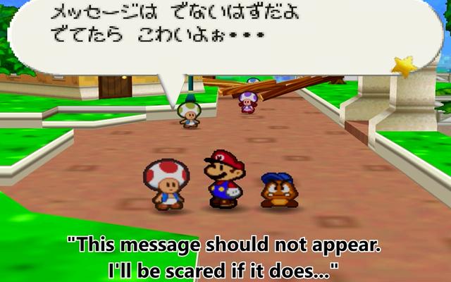 16 Yıl Sonra Hayranlar Kağıt Mario'da Gizli Gizli Mesajları Buldu