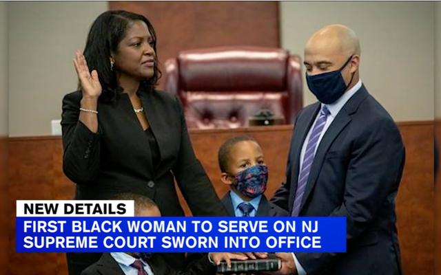 New Jersey po raz pierwszy w swojej historii wysyła czarną kobietę do Stanowego Sądu Najwyższego