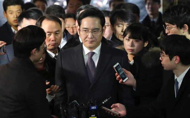 जेल नहीं जा रहा सैमसंग का वारिस: दक्षिण कोरिया ने गिरफ्तारी वारंट खारिज किया