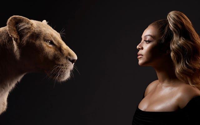 Les stars du roi Lion rencontrent leurs homologues numériques dans une superbe série de photos