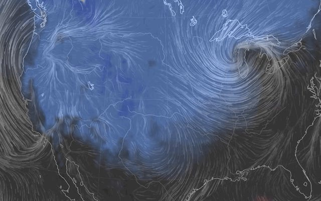 Un cyclone à la bombe et des vents puissants anéantiront le voyage de Thanksgiving