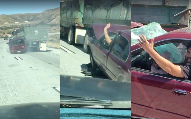 Caminhoneiro que arrastou outro carro por milhas: 'Eu não sabia'