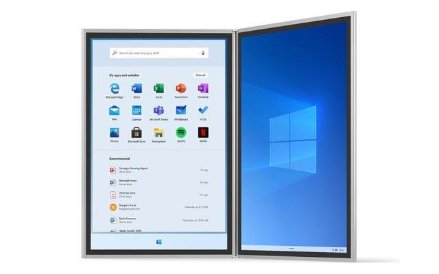 Microsoftの未来を形作るオペレーティングシステムであるWindows10xとは