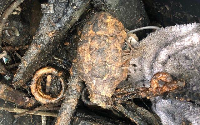フロリダの男が「第二次世界大戦の手榴弾」を発見し、地元のタコベルに追いやる