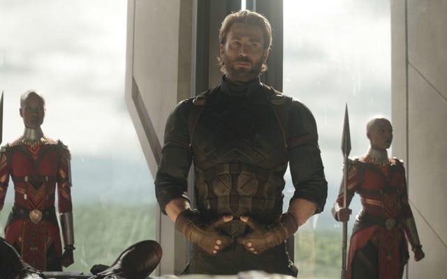Oh My Stars and Stripes、Avengers 4 Director Joe Russoは、ChrisEvansのキャップがまだ完成していない可能性があることをほのめかしました