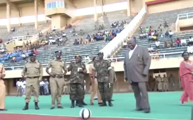 रॉब फोर्ड को युगांडा का जवाब किसी भी तरह कम पुष्ट है