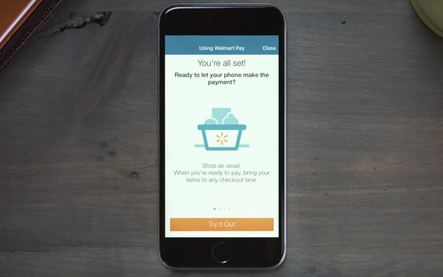あなたは今あなたの携帯電話を使ってウォルマートで支払うことができます
