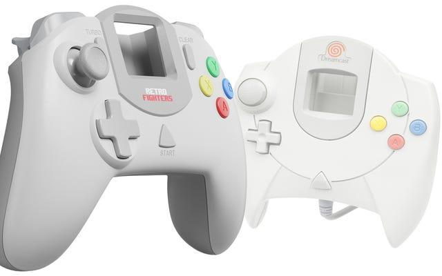 Wreszcie kontroler Dreamcast zbudowany dla wygody
