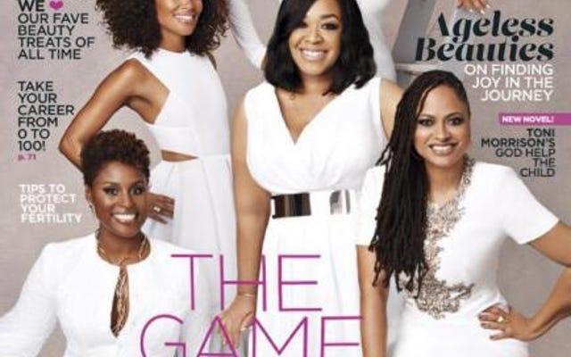 เกมเปลี่ยน: Issa Rae, Shonda Rhimes, Ava DuVernay, Debbie Allen และ Mara Brock Akil Stun บน Essence's May Cover