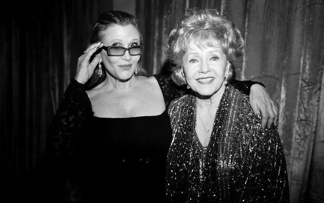 Jasne światła Carrie Fisher i Debbie Reynolds świecą w nowym dokumencie HBO