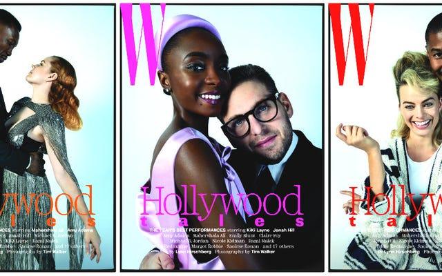 奇妙なカップル、象徴的な役割:W Magazineは、最高のパフォーマンスを祝ってアワードシーズンを開始します