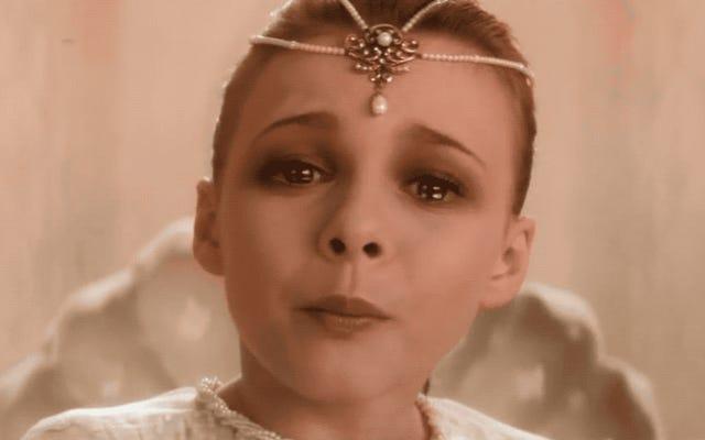 Детская императрица NeverEnding Story снимается в трибьют-фэнтези 80-х