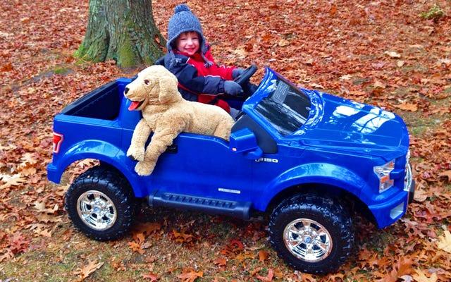 2015フォードF-150パワーホイール:4歳の子供のレビュー