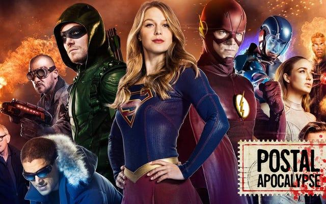 วิธีใดที่ดีที่สุดในการเฝ้าดูจักรวาล DC / CW ทั้งหมด