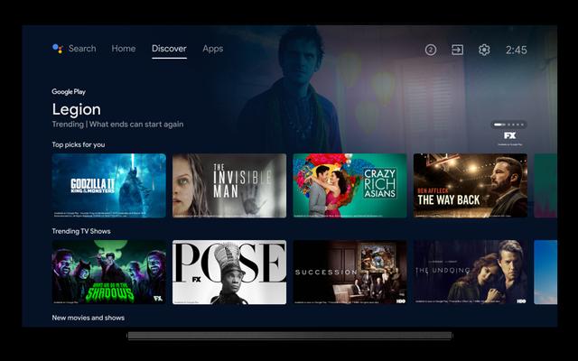 Android TV está recibiendo una gran actualización con una nueva página de descubrimiento
