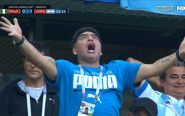 Diego Maradona está teniendo uno normal [Actualizaciones]