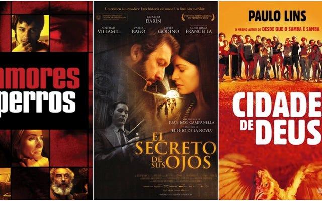Phim hay nhất của từng quốc gia Mỹ Latinh, theo bảng xếp hạng IMDb