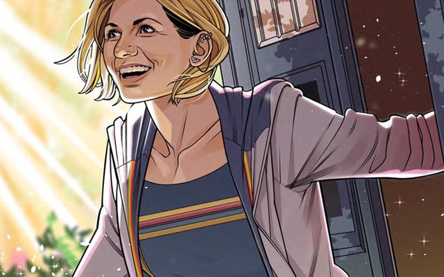 13番目のドクターのコミックデビューは完璧なドクターの小さなスライスです