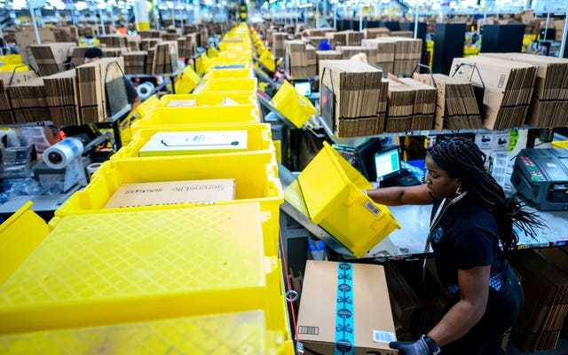 Empleados de Amazon Warehouse en Alabama votarán para sindicalizarse