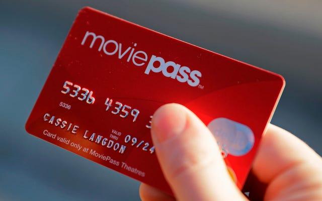 MoviePassはユーザーパスワードを変更し、ユーザーアクセスを防ぐために「トリップワイヤー」をアクティブにしました