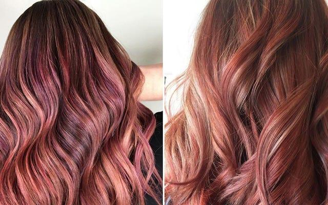 サタデーナイトソーシャル:フルーツジュースの髪で寝る