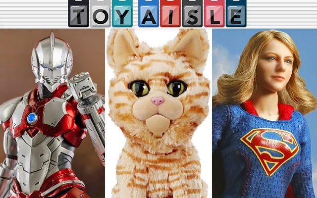 Rien ne peut arrêter la domination du chat de Captain Marvel et plus de jouets Purrfect cette semaine