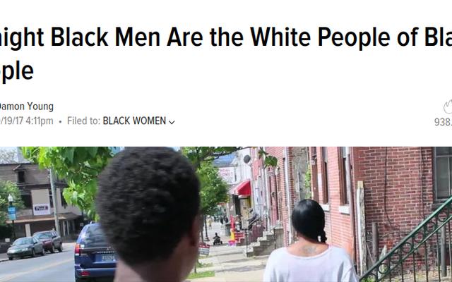 """Spojrzenie wstecz na reakcję na to, że rok później """"prostolinijni czarni ludzie są białymi czarnymi ludźmi"""""""