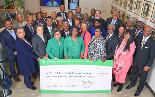 Avec un plan de dotation de 10 millions de dollars, Alpha Kappa Alpha Sorority investit dans les HBCU