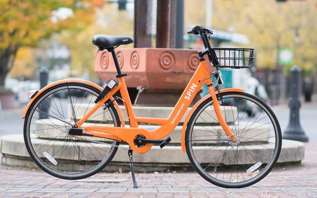 การเริ่มต้นการแชร์จักรยานแบบไม่ใช้แท่นชาร์จกำลังสร้างความหายนะให้กับซีแอตเทิล